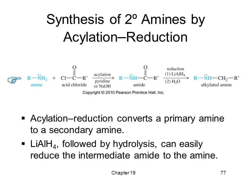 Synthesis of 2º Amines by Acylation–Reduction