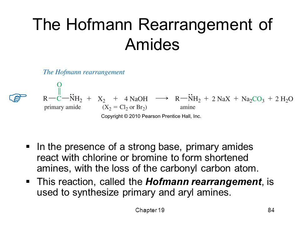The Hofmann Rearrangement of Amides