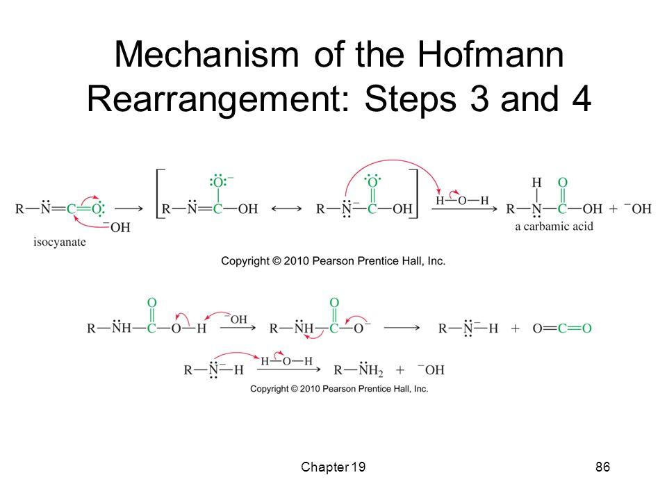 Mechanism of the Hofmann Rearrangement: Steps 3 and 4