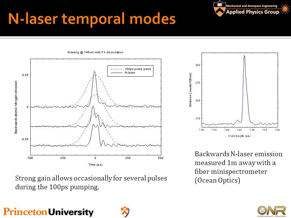 N-laser temporal modes