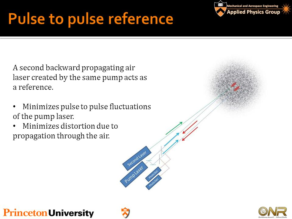 Pulse to pulse reference