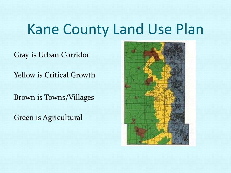 Kane County Land Use Plan