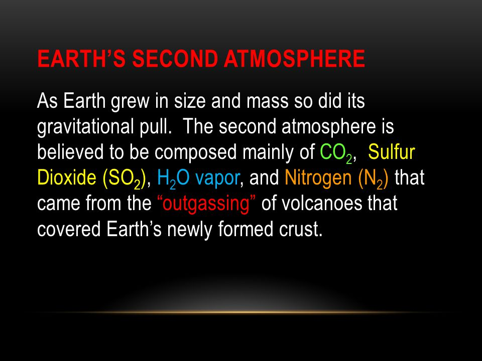 Earth's Second Atmosphere