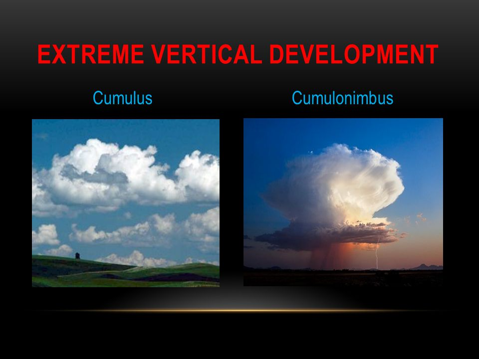 Extreme Vertical Development