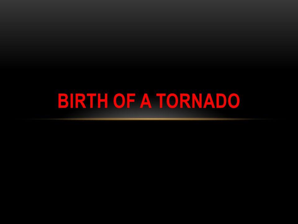 Birth of a Tornado