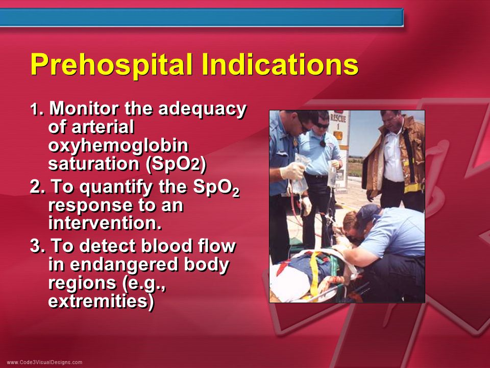 Prehospital Indications