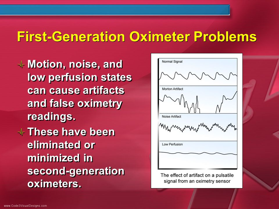 First-Generation Oximeter Problems