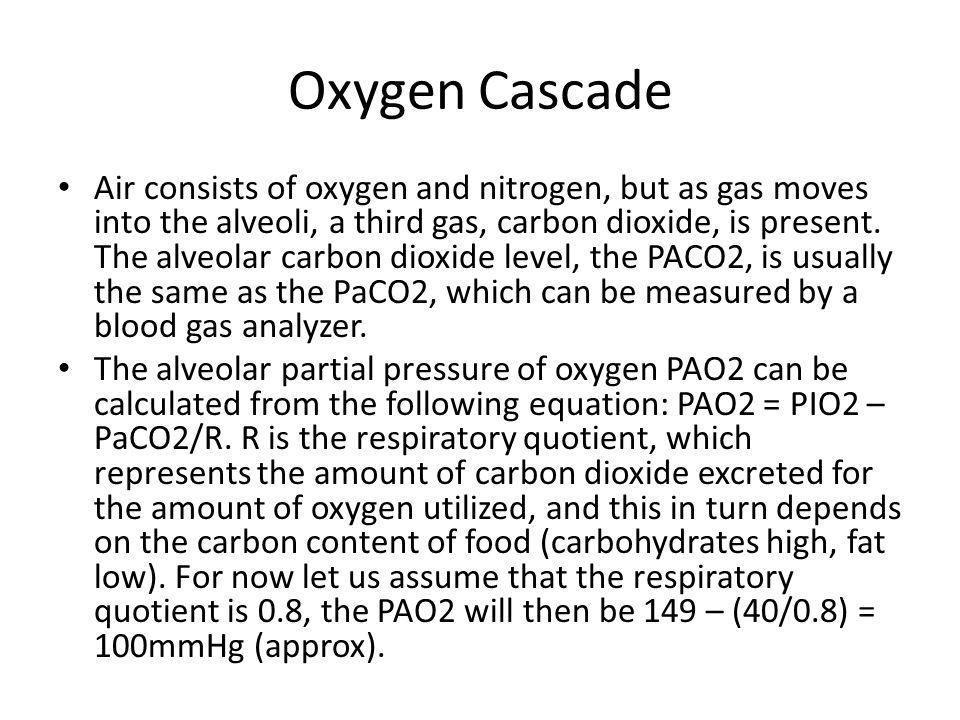Oxygen Cascade