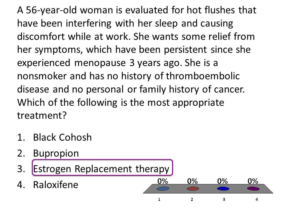 Estrogen Replacement therapy Raloxifene