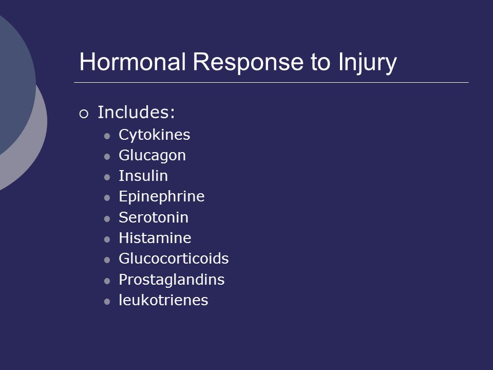 Hormonal Response to Injury
