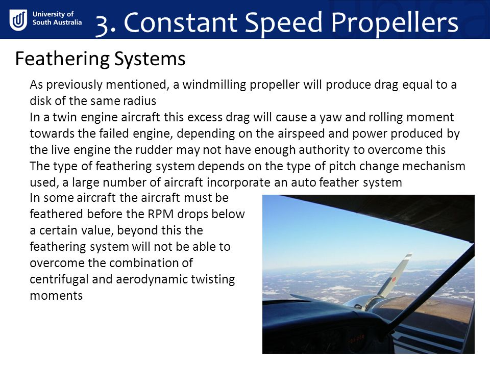 3. Constant Speed Propellers