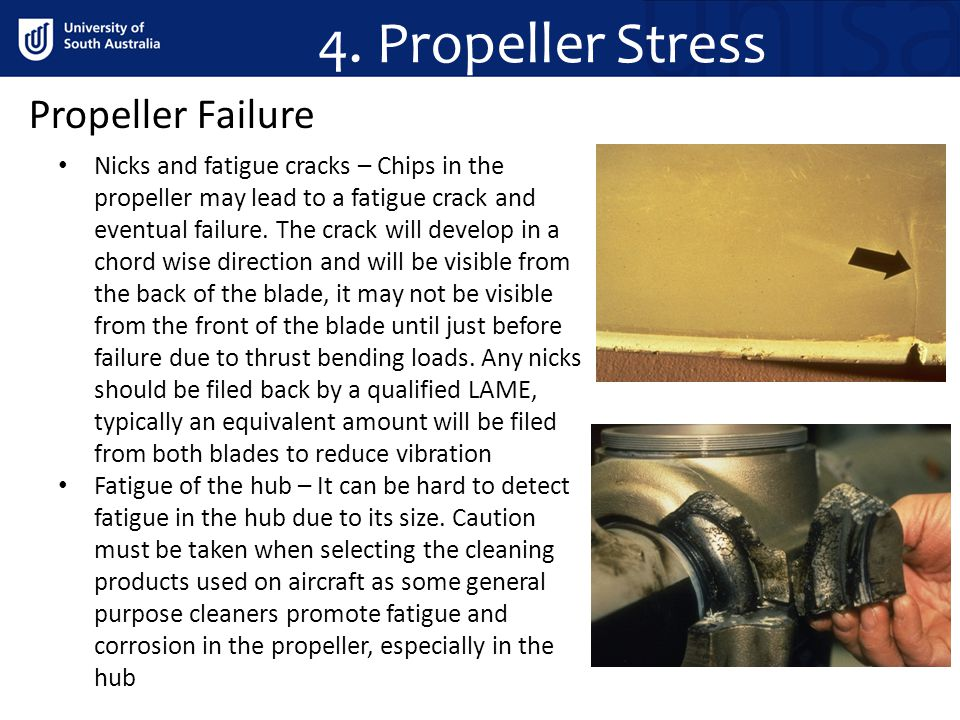 4. Propeller Stress Propeller Failure