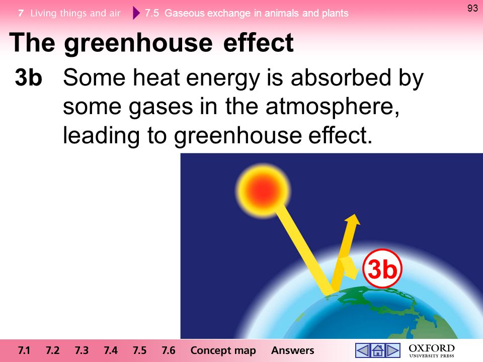 The greenhouse effect 3b