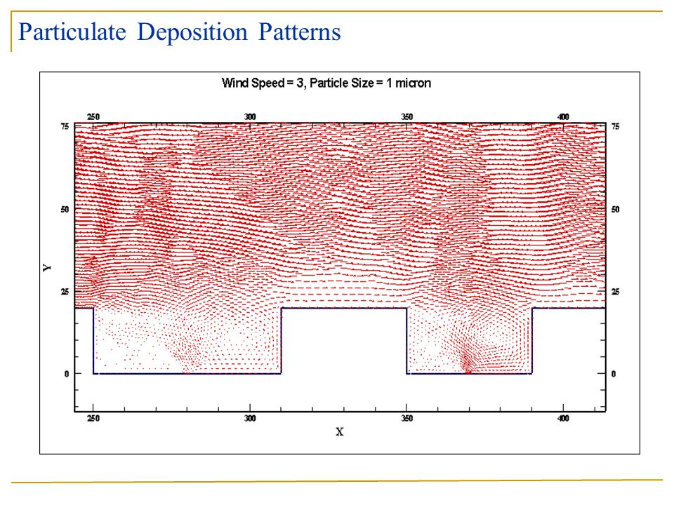 Particulate Deposition Patterns