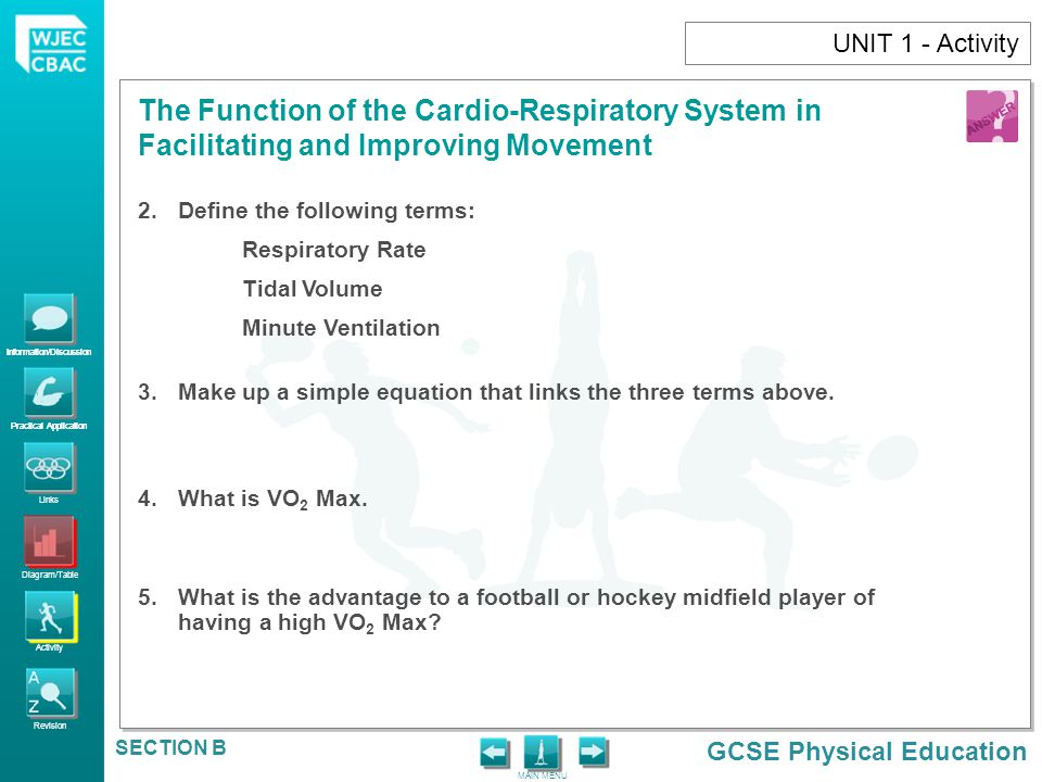 UNIT 1 - Activity Define the following terms: Respiratory Rate