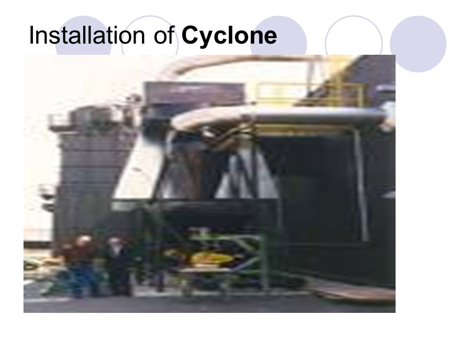 Installation of Cyclone