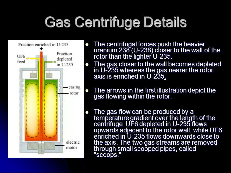 Gas Centrifuge Details