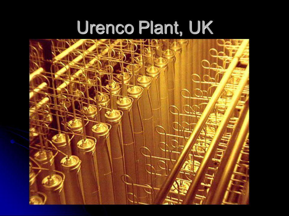 Urenco Plant, UK