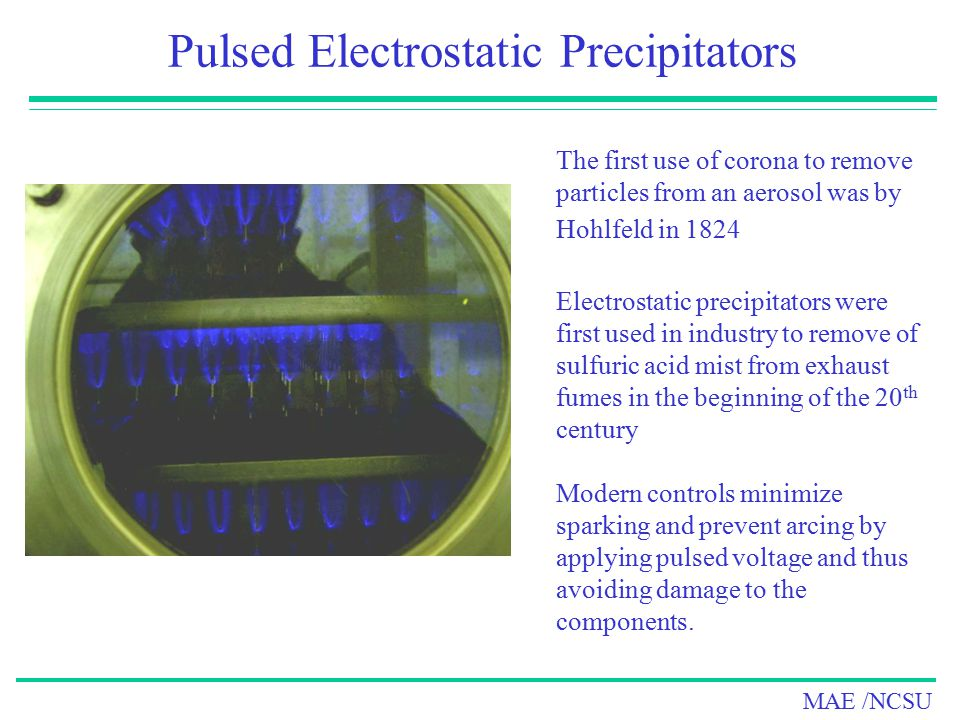 Pulsed Electrostatic Precipitators