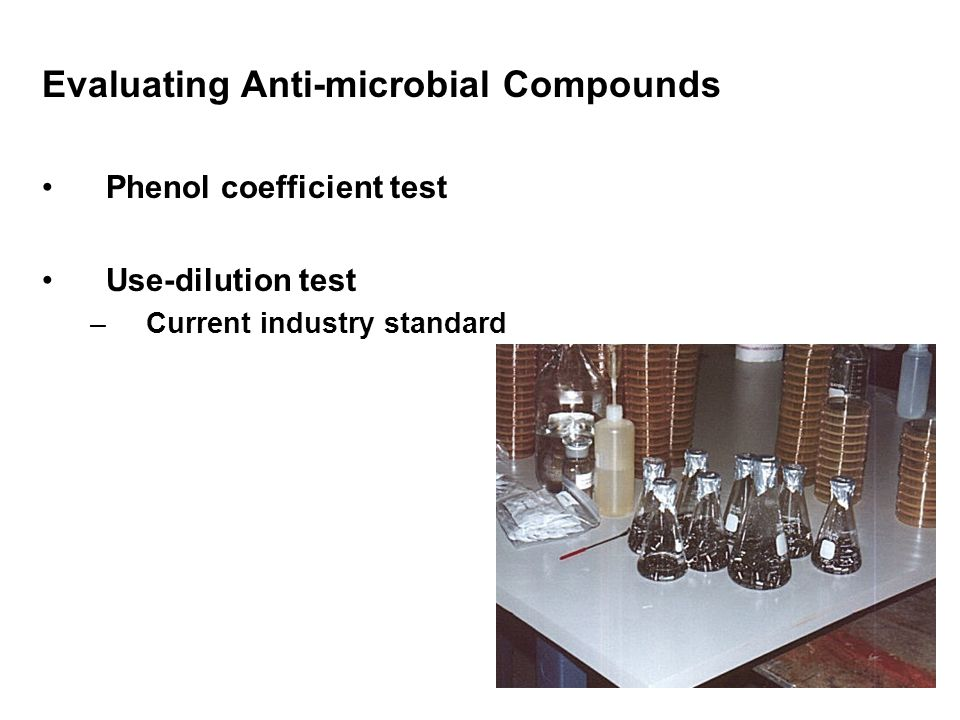 Evaluating Anti-microbial Compounds