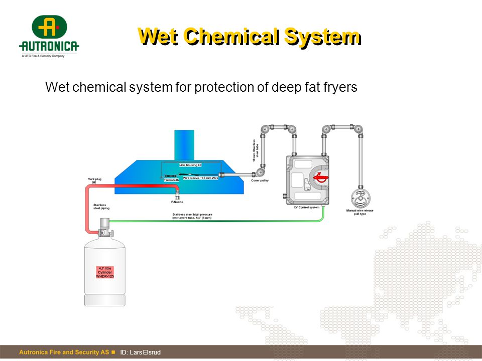 Wet Chemical System Wet chemical system for protection of deep fat fryers