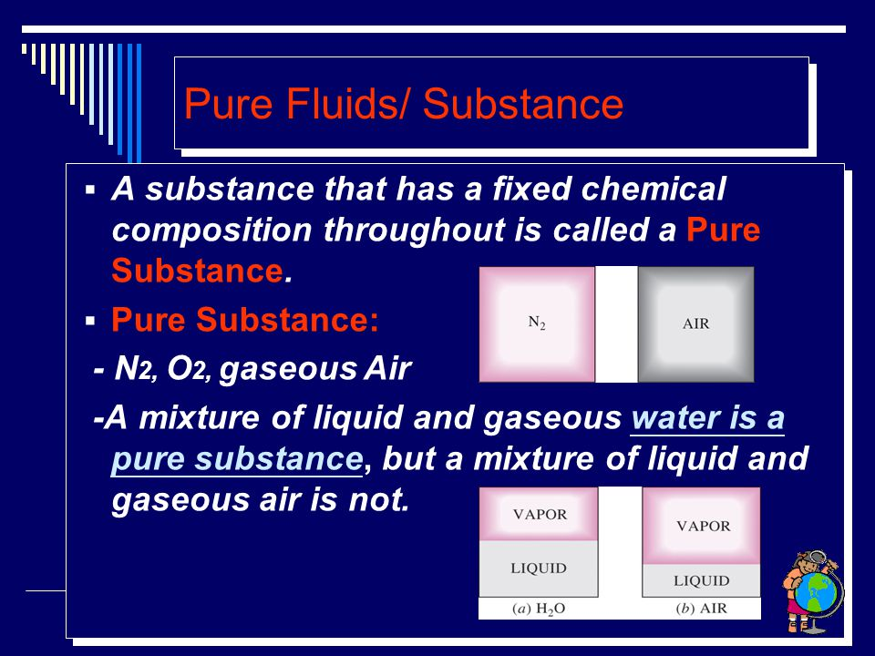 Pure Fluids/ Substance