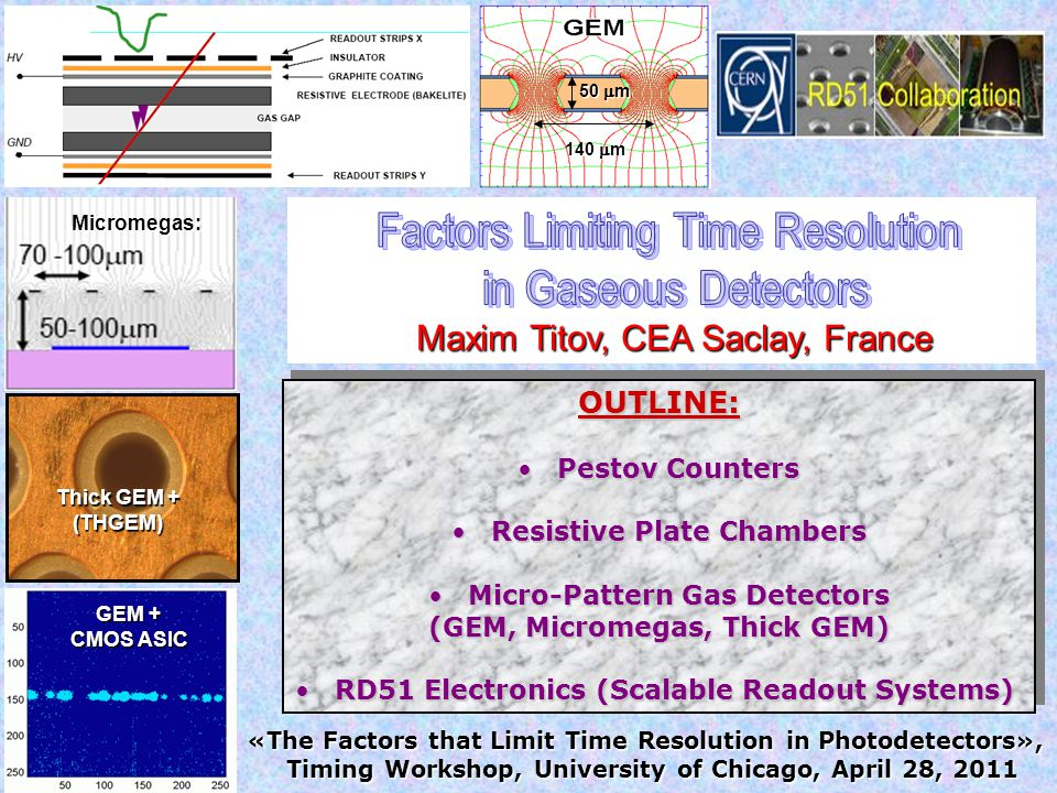 Factors Limiting Time Resolution in Gaseous Detectors