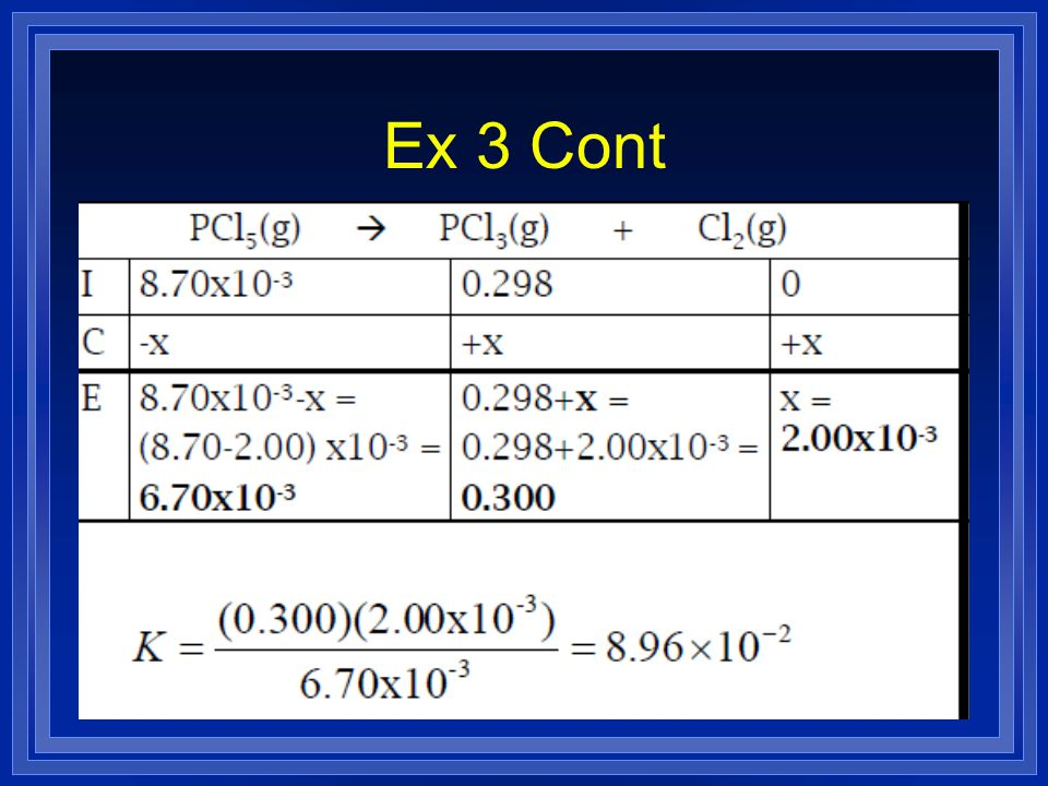 Ex 3 Cont