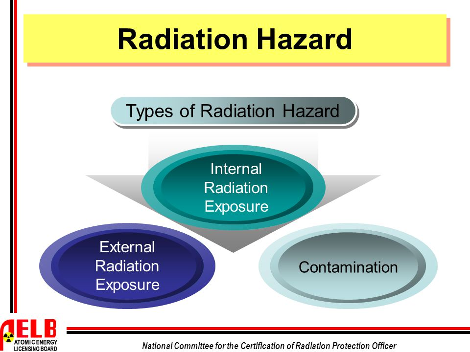 Radiation Hazard Types of Radiation Hazard Internal Radiation Exposure