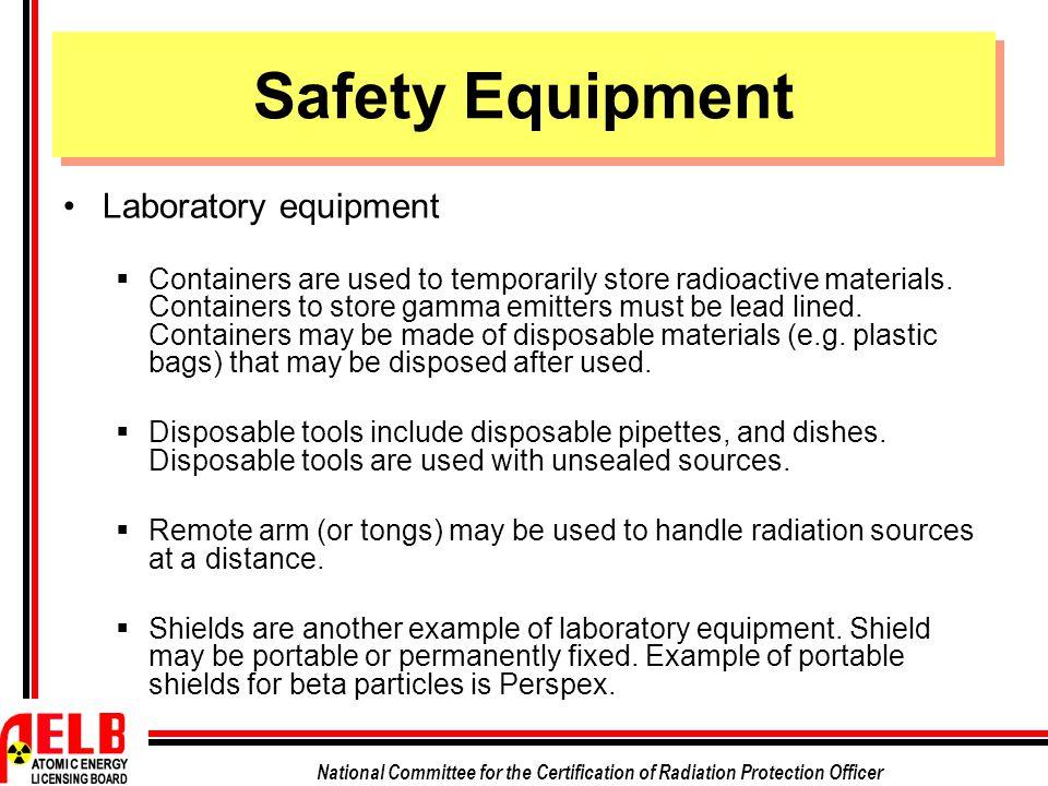 Safety Equipment Laboratory equipment
