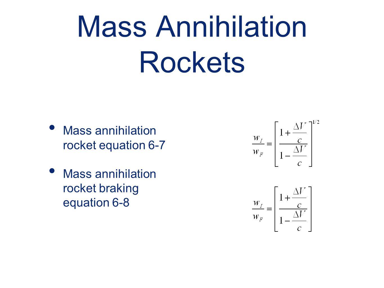 Mass Annihilation Rockets