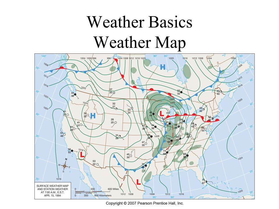 Weather Basics Weather Map
