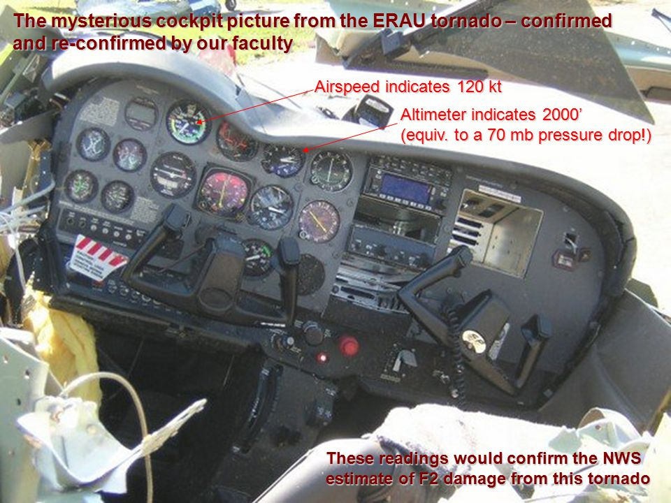 The mysterious cockpit picture from the ERAU tornado – confirmed and re-confirmed by our faculty
