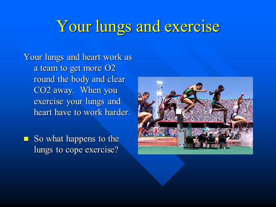 Your lungs and exercise