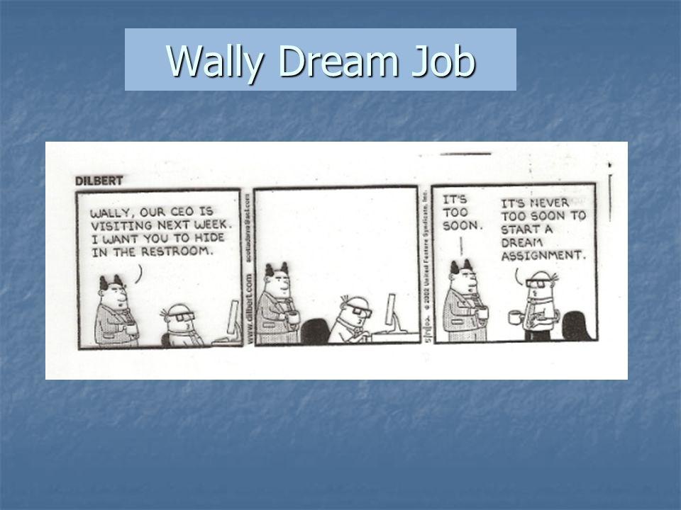 Wally Dream Job