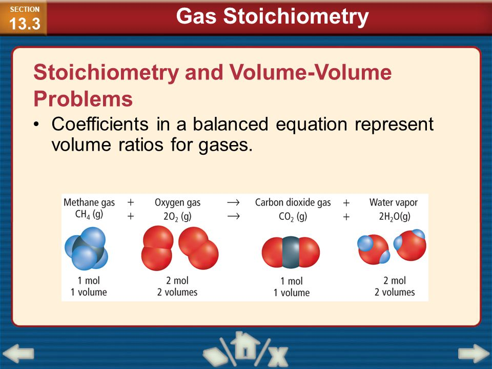 Stoichiometry and Volume-Volume Problems