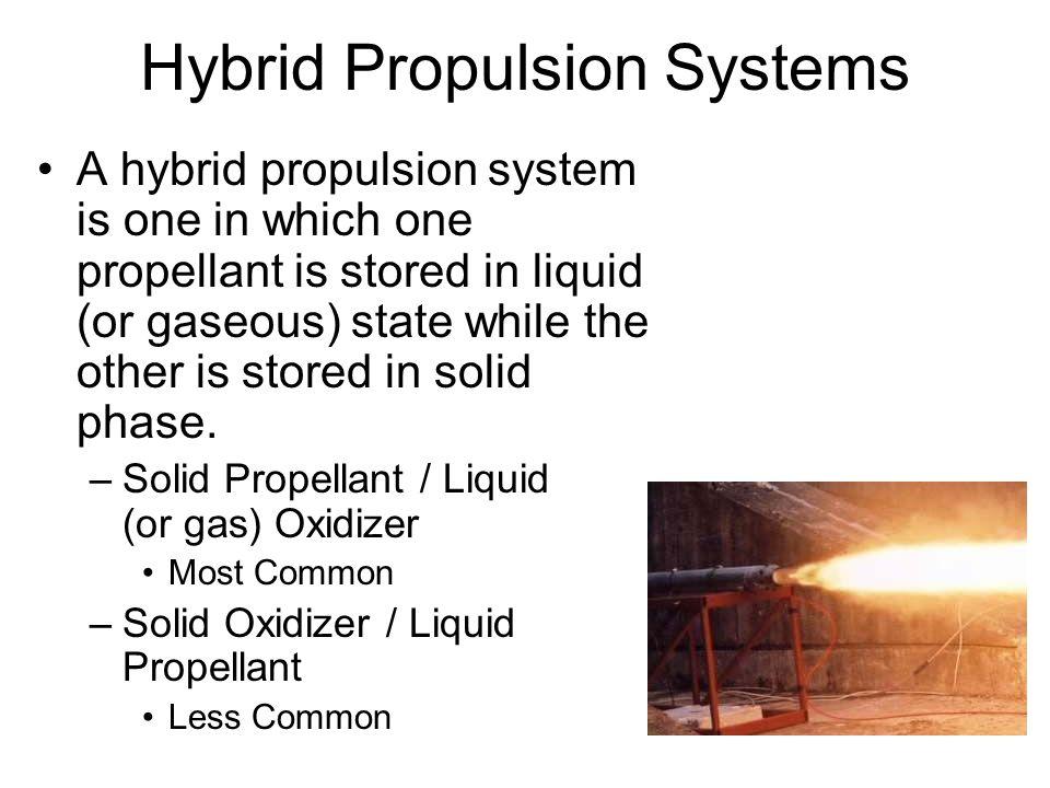 Hybrid Propulsion Systems