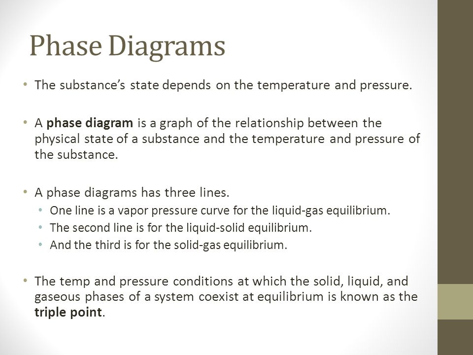 Reading, Interpreting, and Drawing Phase Diagrams - ppt download