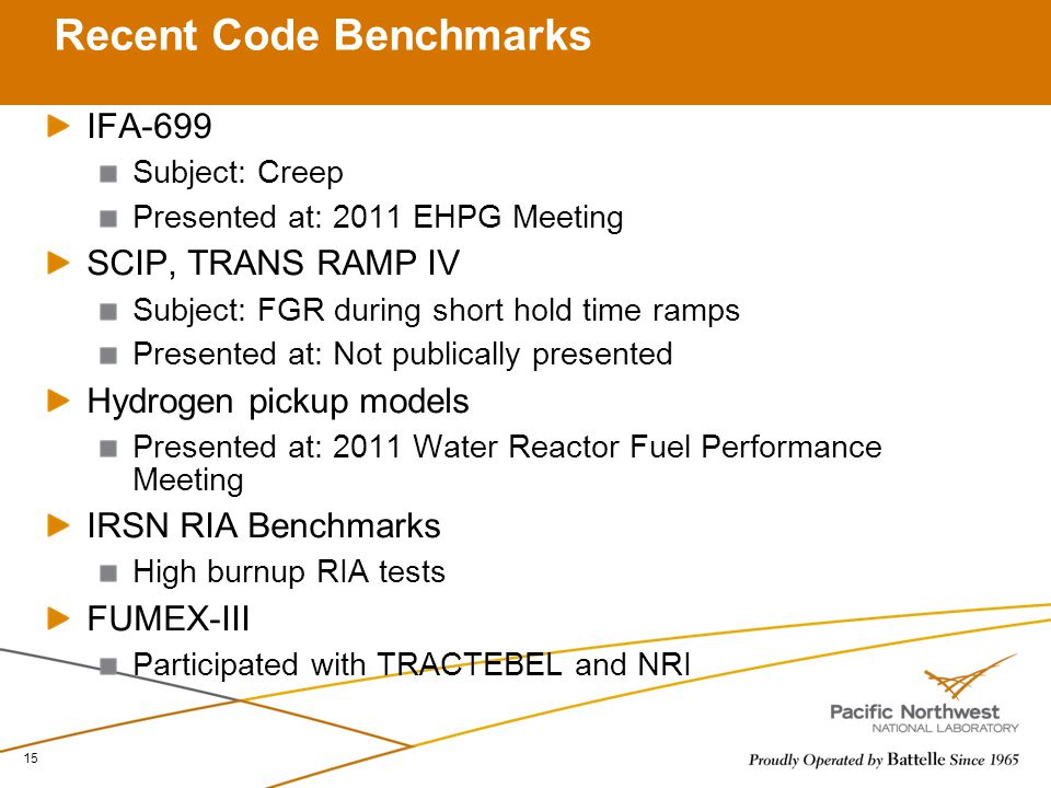 Recent Code Benchmarks
