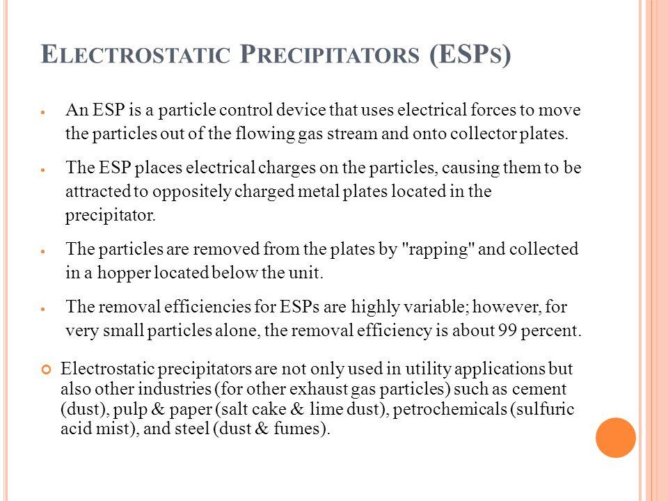 Electrostatic Precipitators (ESPs)