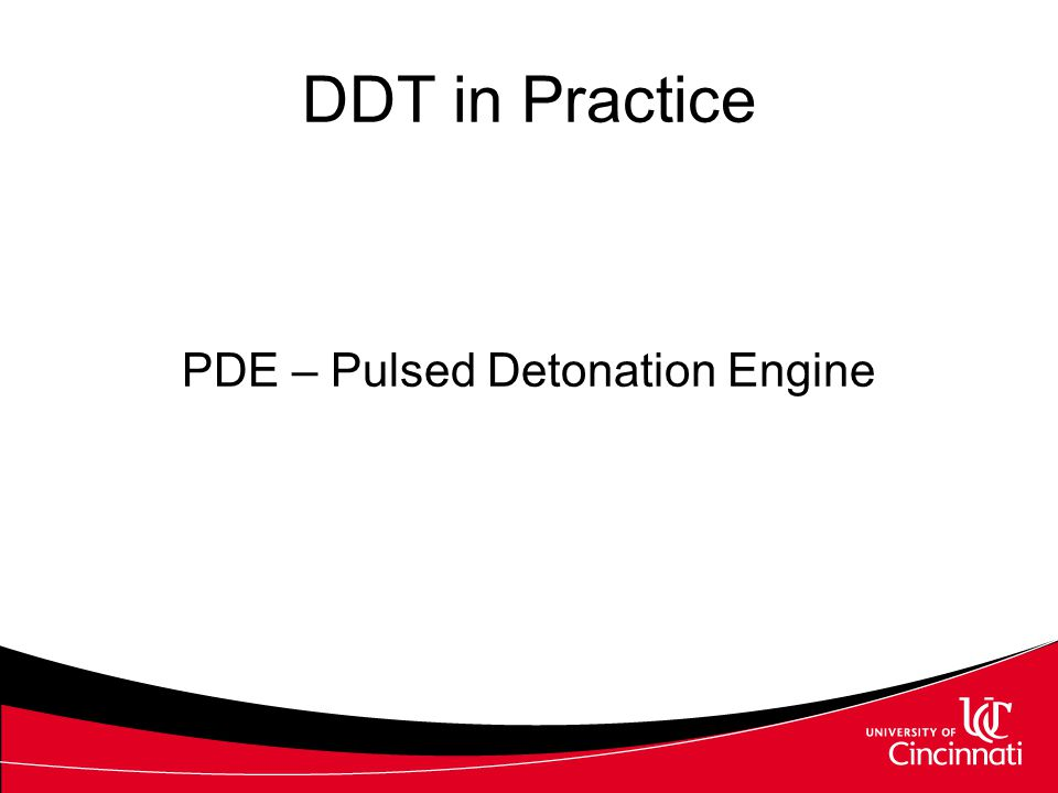 PDE – Pulsed Detonation Engine