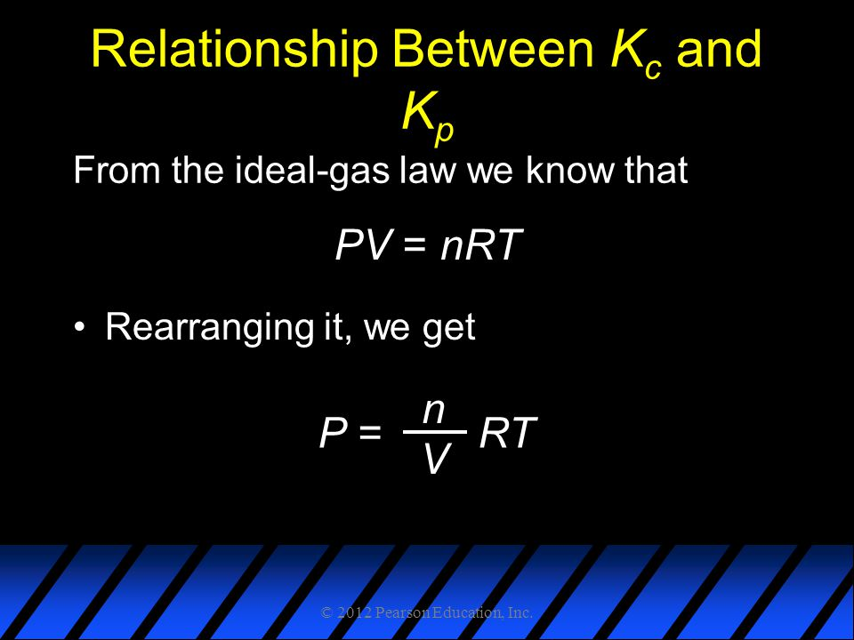 Relationship Between Kc and Kp