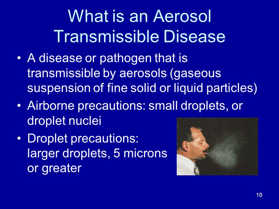 What is an Aerosol Transmissible Disease