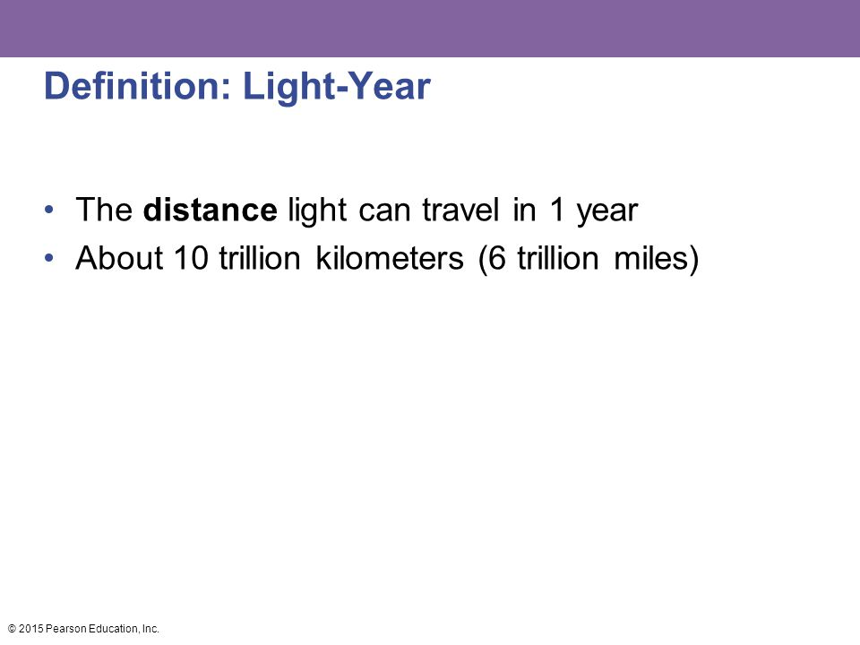 Definition: Light-Year