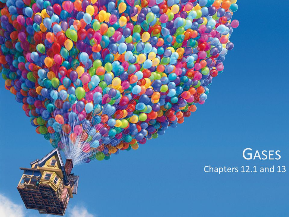 Gases Chapters 12.1 and 13