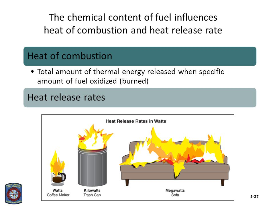 Gaseous fuel can be the most dangerous of all fuel types