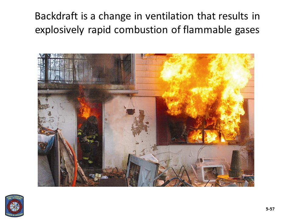 Firefighters should know about several backdraft indicators as well