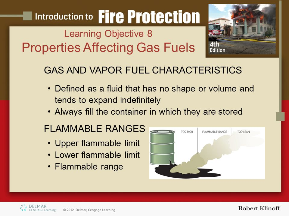 Properties Affecting Gas Fuels