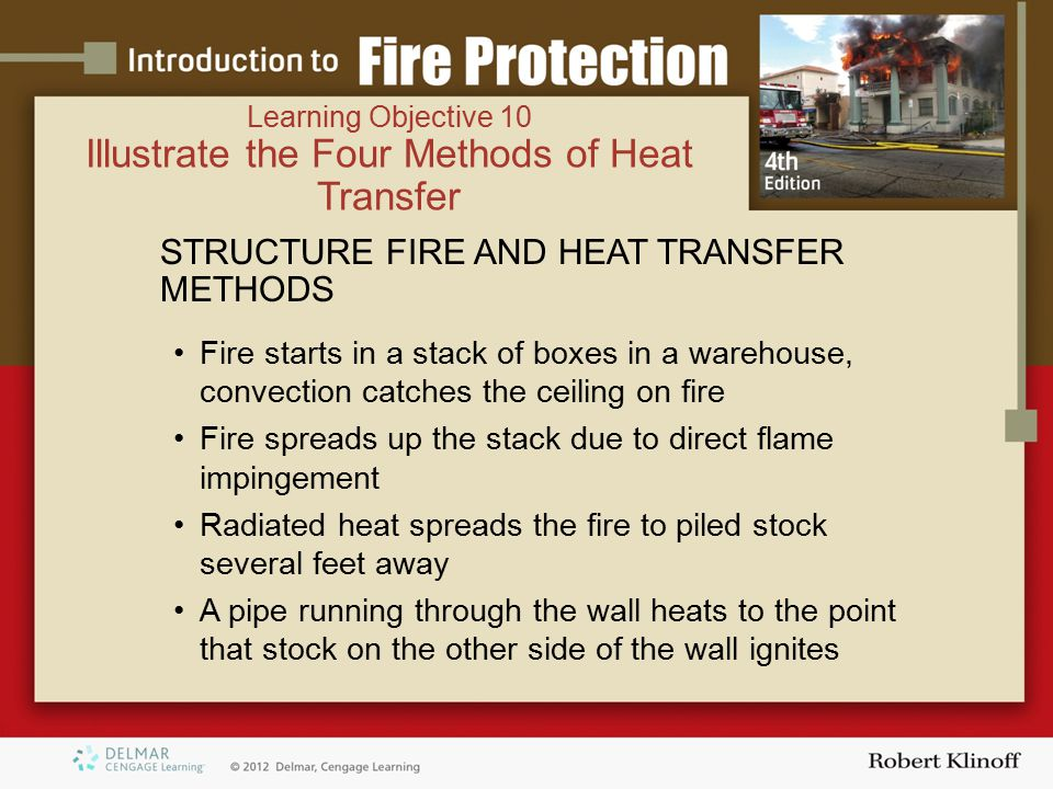 Illustrate the Four Methods of Heat Transfer