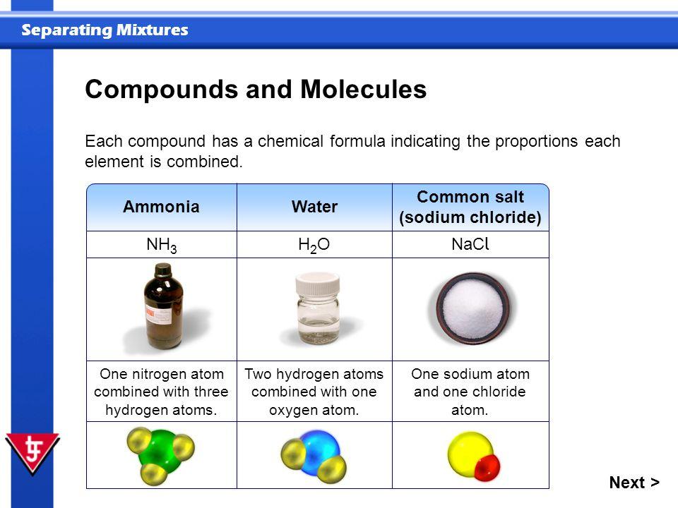 Common salt (sodium chloride)